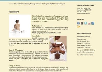 unwind-massage
