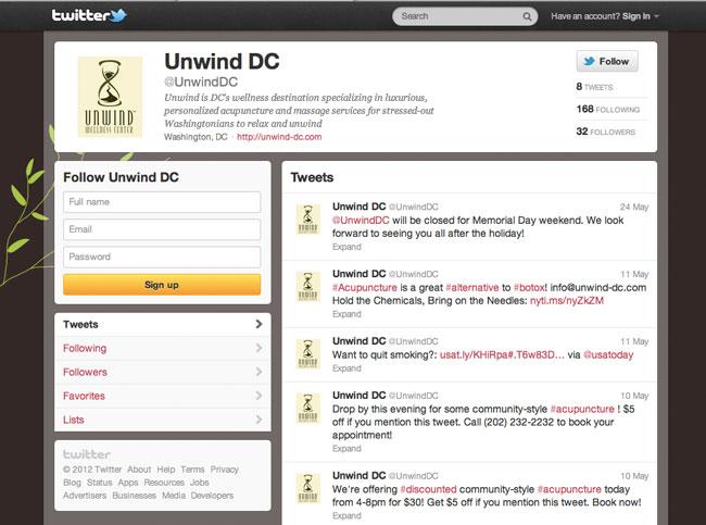 unwind-twitter
