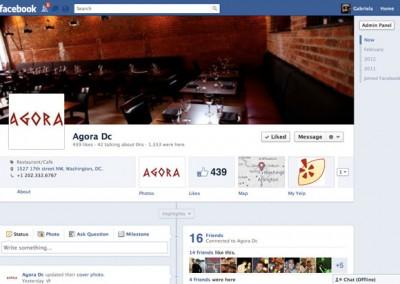 Agora Restaurant - Facebook-timeline
