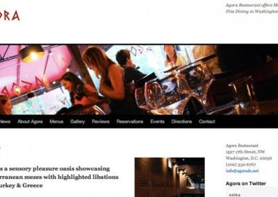 Agora - Home page