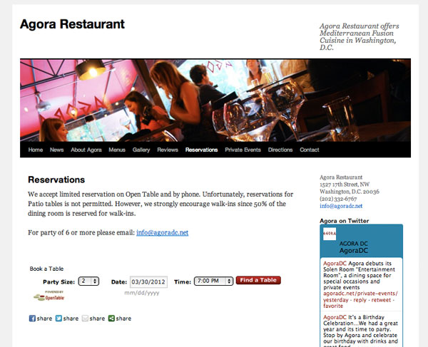 Agora Restaurant - Reservations with OpenTable