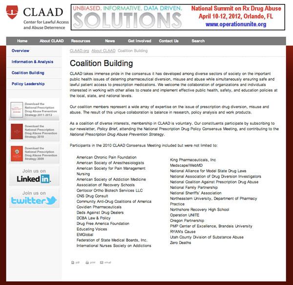 CLAAD - Coalition Building
