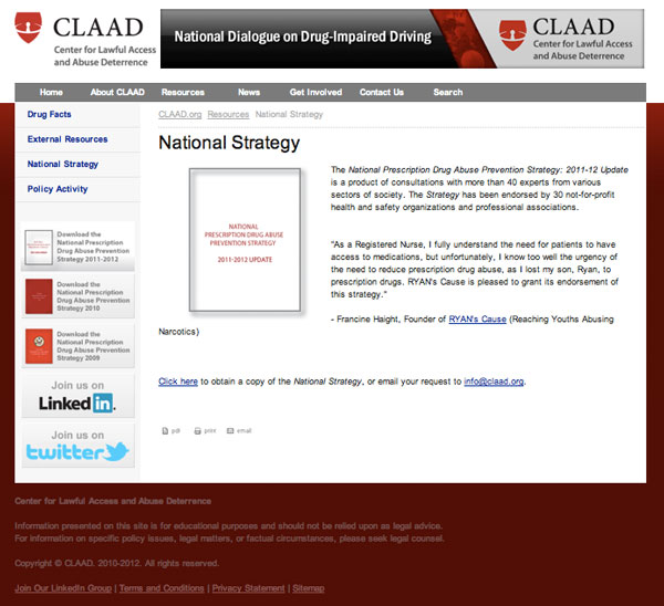 CLAAD - National Strategy Report