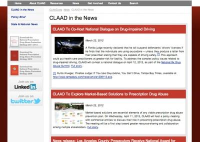 CLAAD - News page