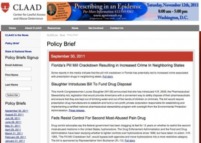 CLAAD - Policy Brief, monthly, original layout