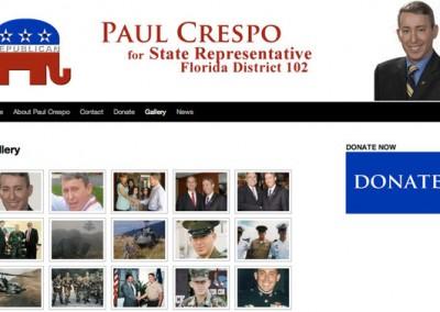Paul Crespo for State Representative 2011 - Gallery