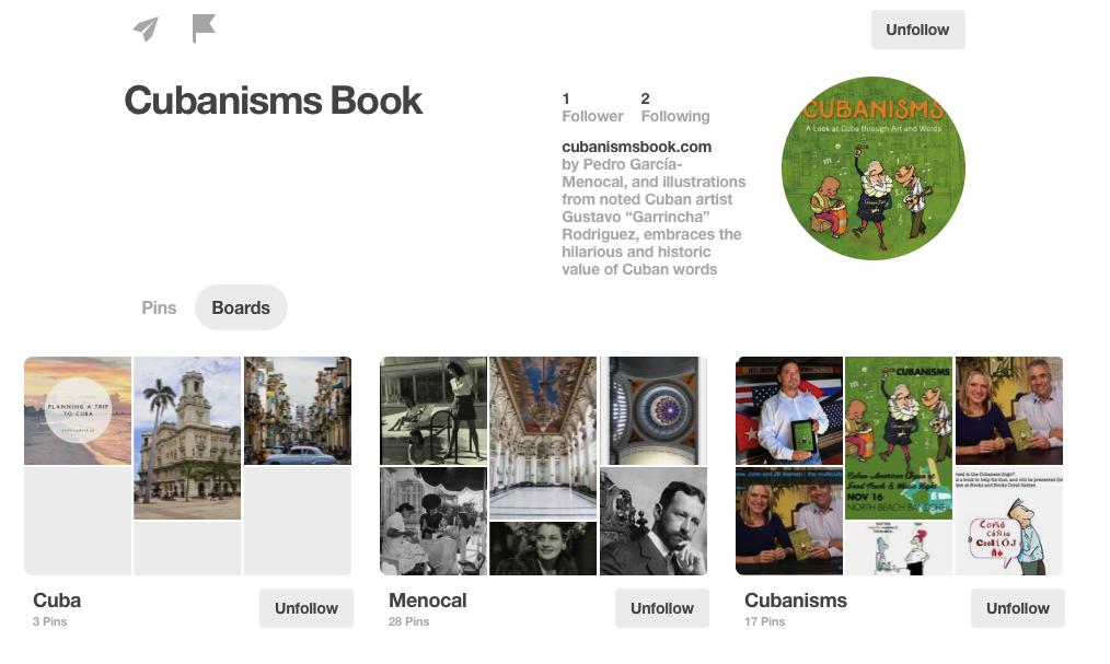 Cubanisms Book on Pinterest